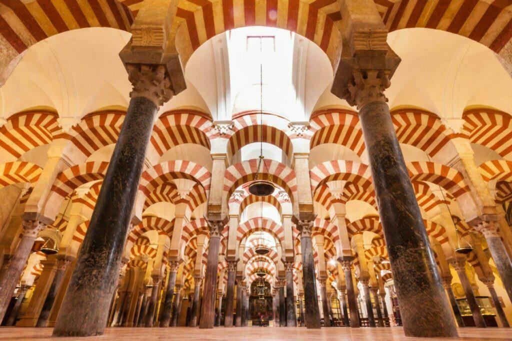 La mosquée de Cordoue (Andalousie)