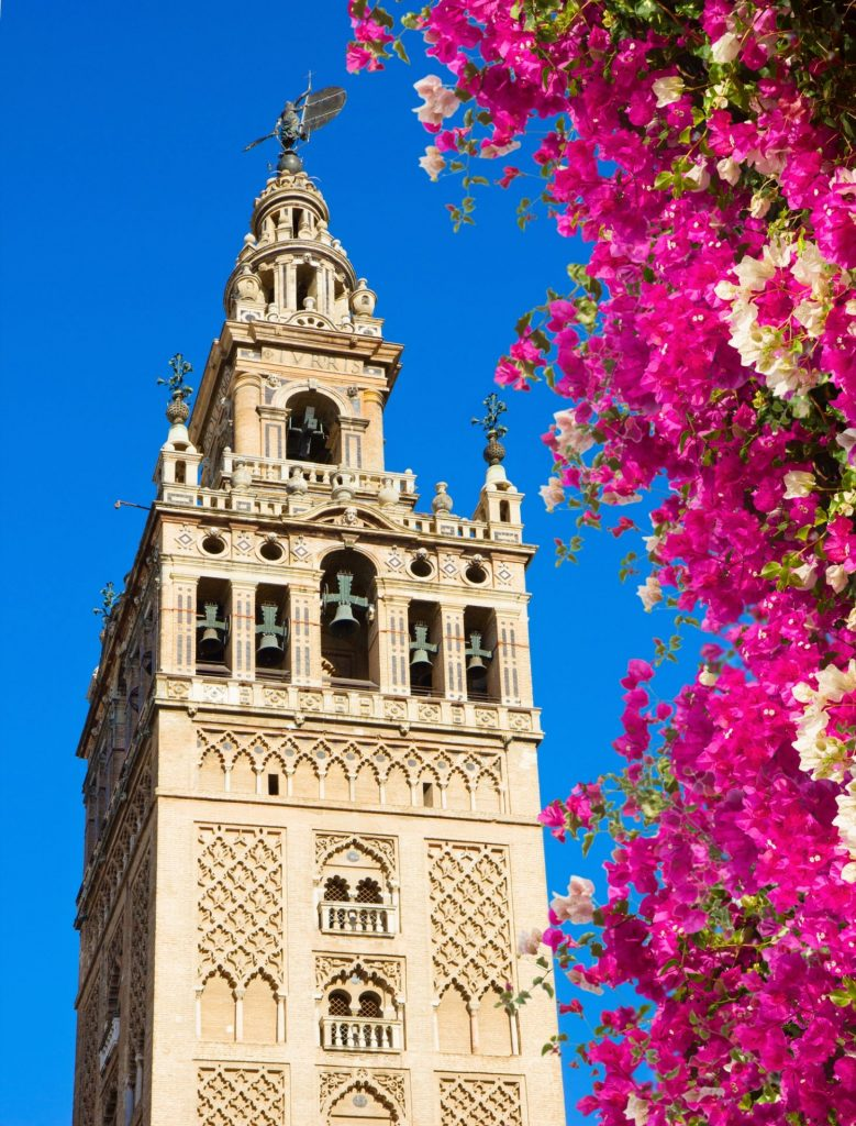Giralda à Séville (Andalousie)