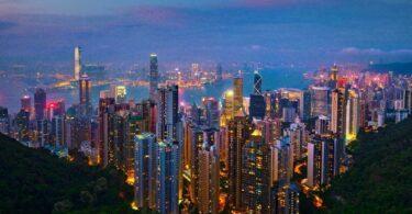 Hong Kong buildings Skyline