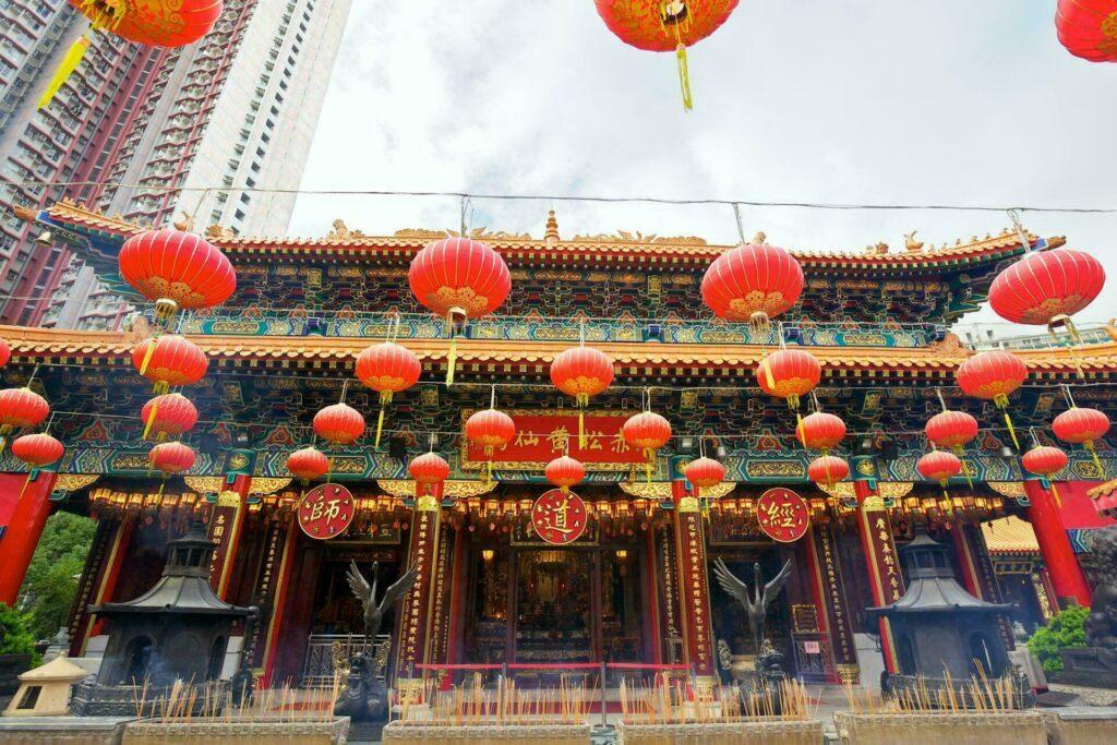 Hong Kong temple Wong Tai Sin