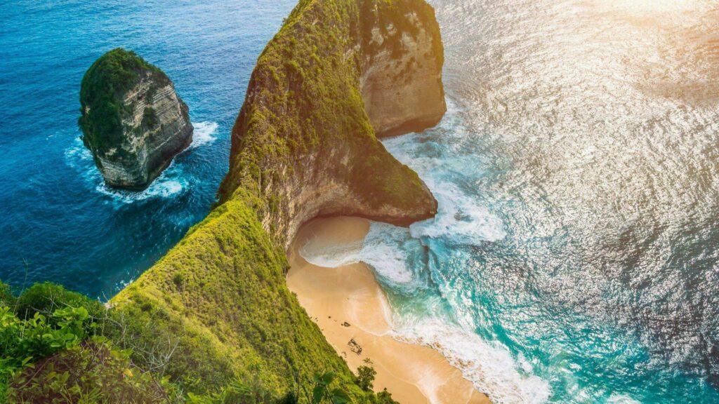 Bali Nusa Penida Manta Bay Kelingking Beach Indonesie