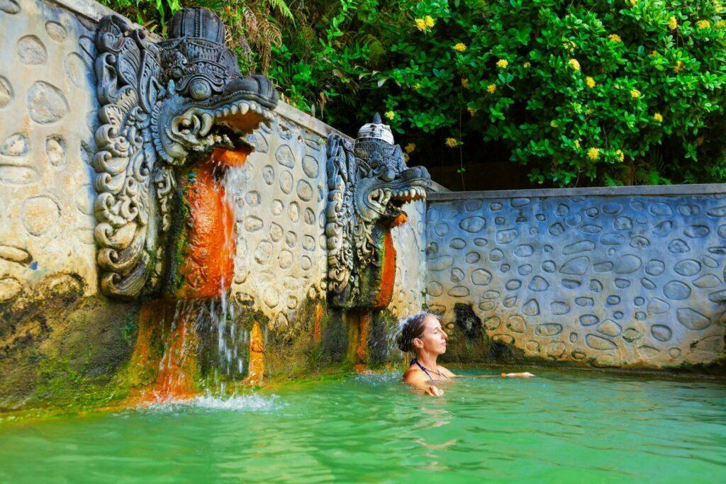 Bali source eau chaude Panas Banjar