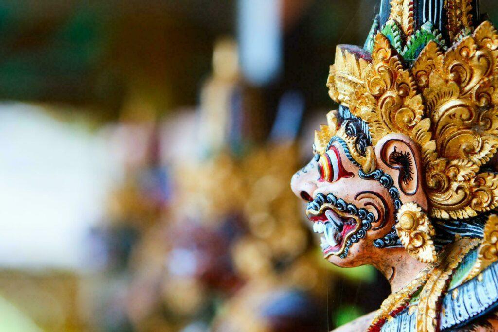 Bali statue dieu balinais