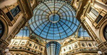 La galerie Vittorio Emmanuelle II à Milan, Italie