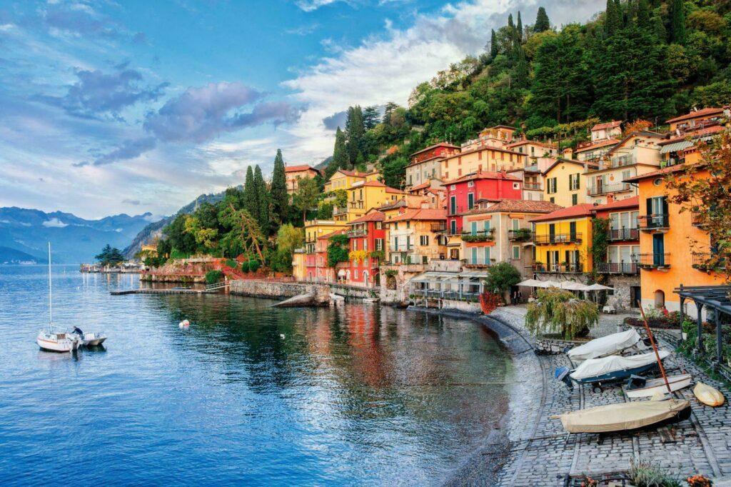 Menaggio sur le lac de Côme, Italie