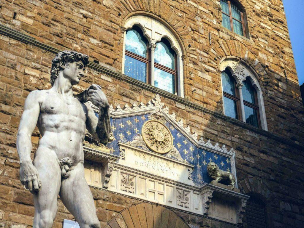 Le David de Michel-Ange (Florence)