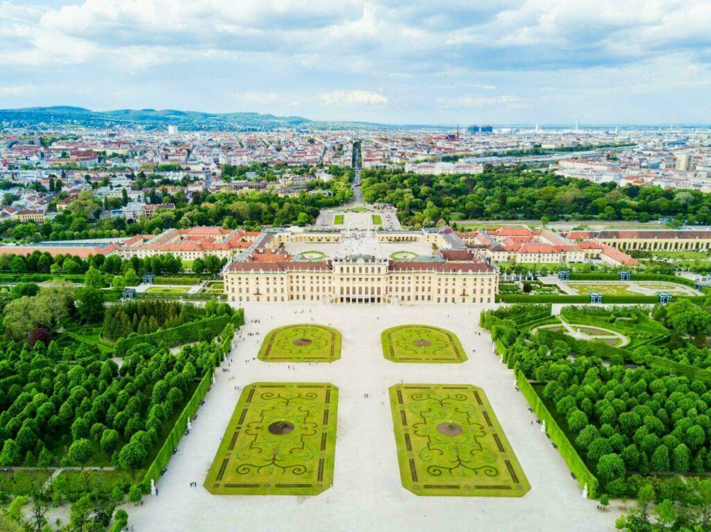 Vienne château de Schönbrunn