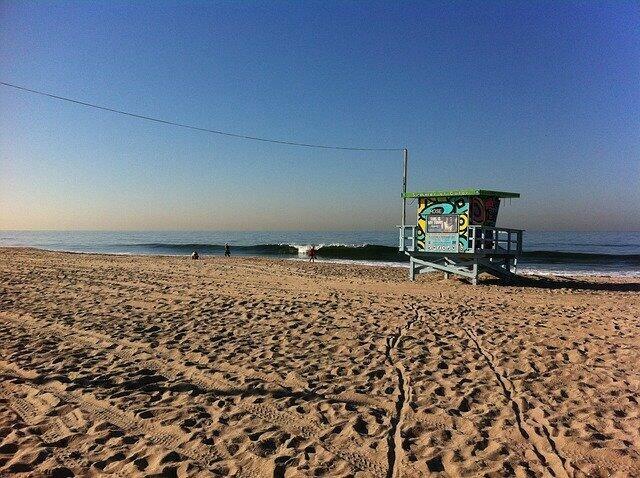 plage Los Angeles