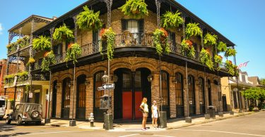 Balcon french quarter