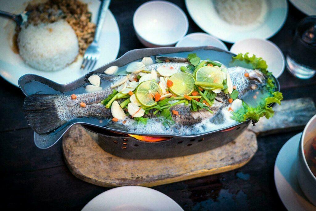 Plat de poisson seychelles