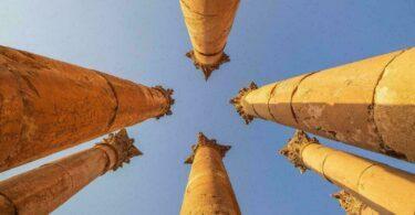 colonnes jordanie