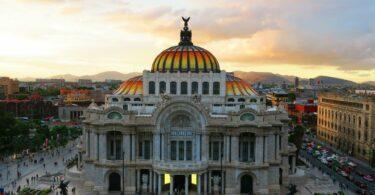 Le palais des beaux arts de Mexico City