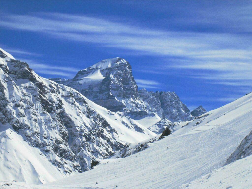 Skier au Chili à Portillo