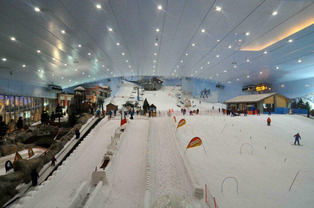 Ski en intérieur à Dubai