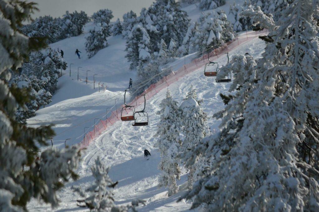 Ski à Chypre