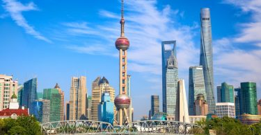 Shanghai en Chine