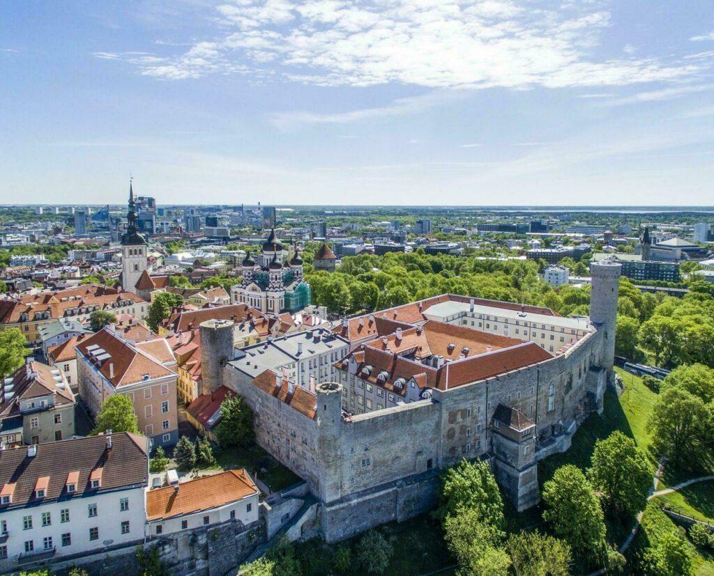 tallinn vue du ciel estonie