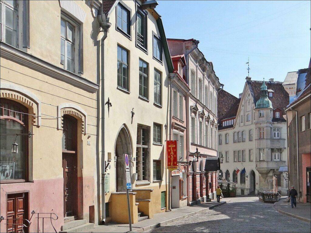vieille ville tallin estonie