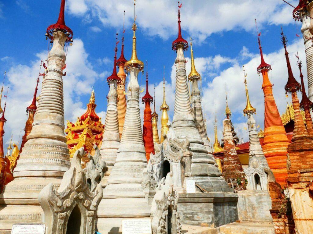 pagodes birmanie