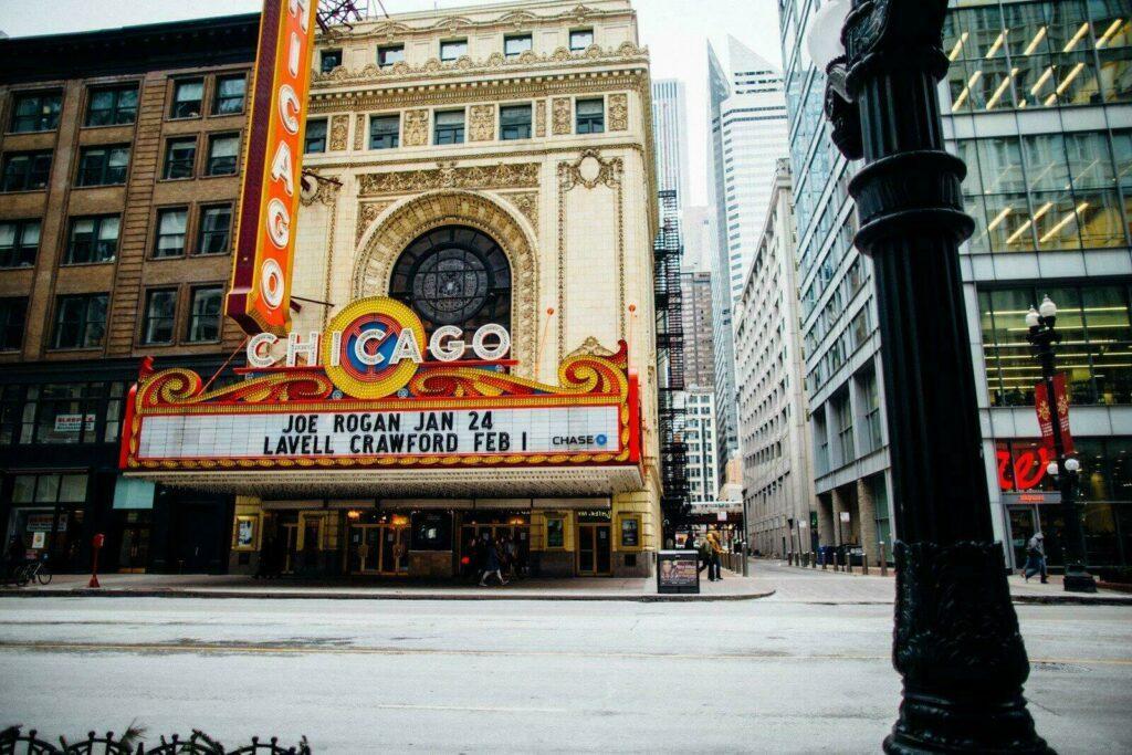 Le theatre de Chicago