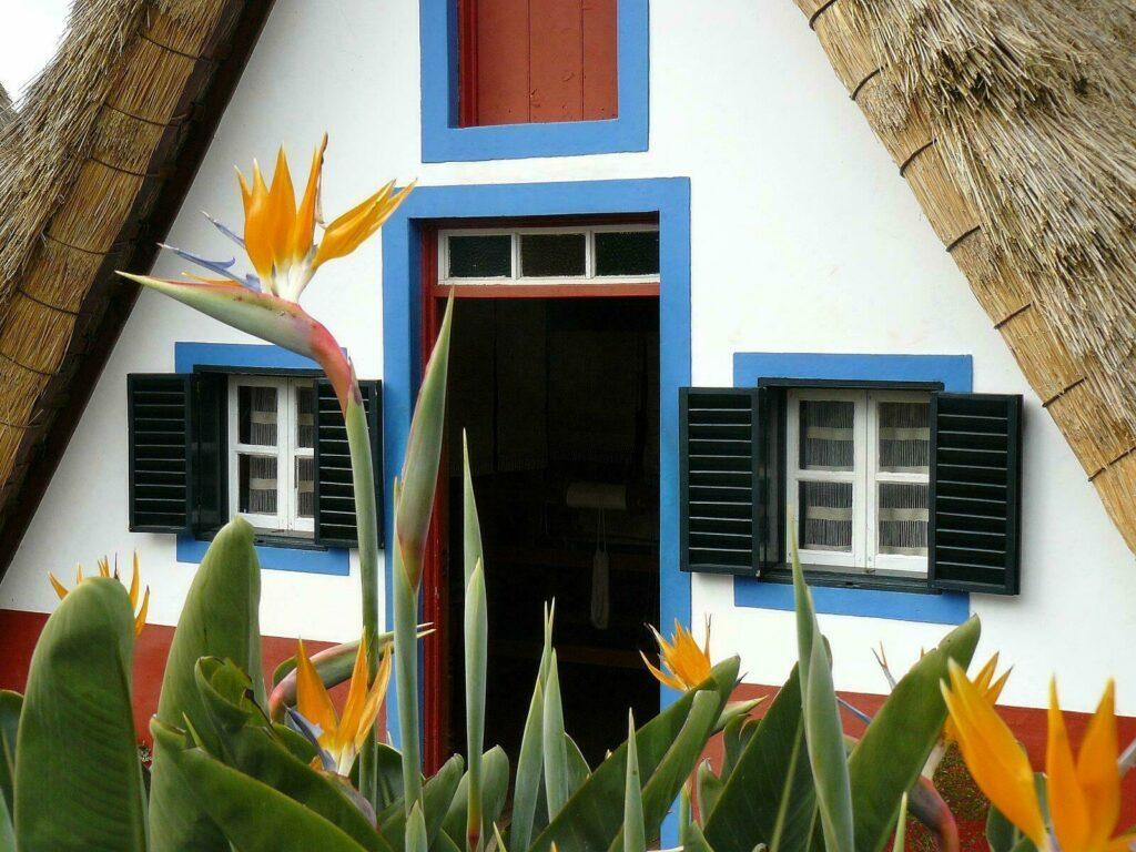 Maison traditionnelle Santana Madere