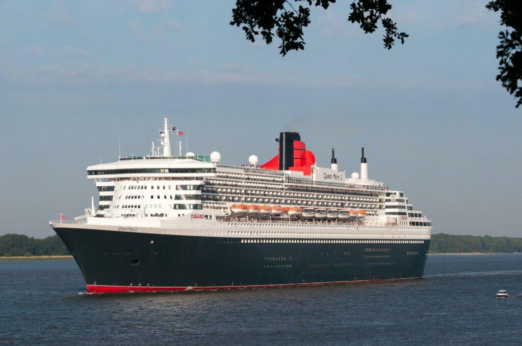 Le bateau de croisière Queen Mary 2