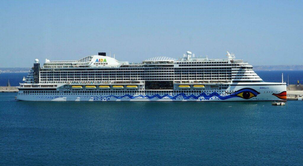 Un des bateaux de la compagnie AIDA