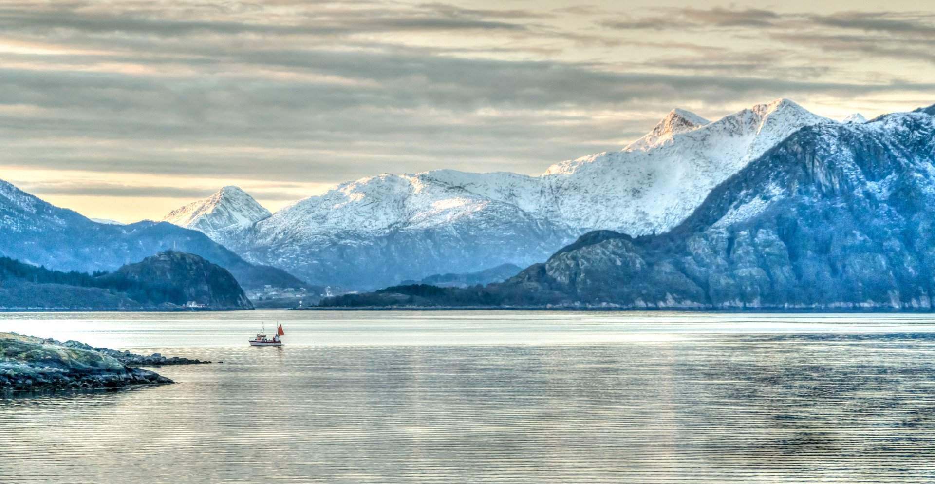 Les fameuses Fiords en Suède