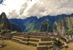 Machu Picchu Peru, South America Panarama