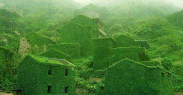 Gouqi village chinois abandonné