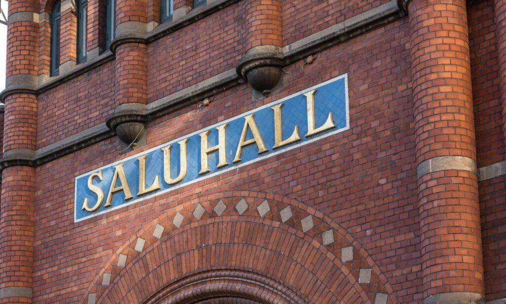 Le marché Saluhall dans le quartier d'Östermalm à Stcokholm