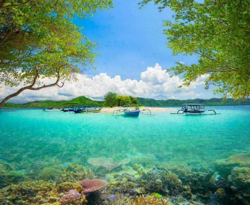 L'Indonésie, saison sèche en août