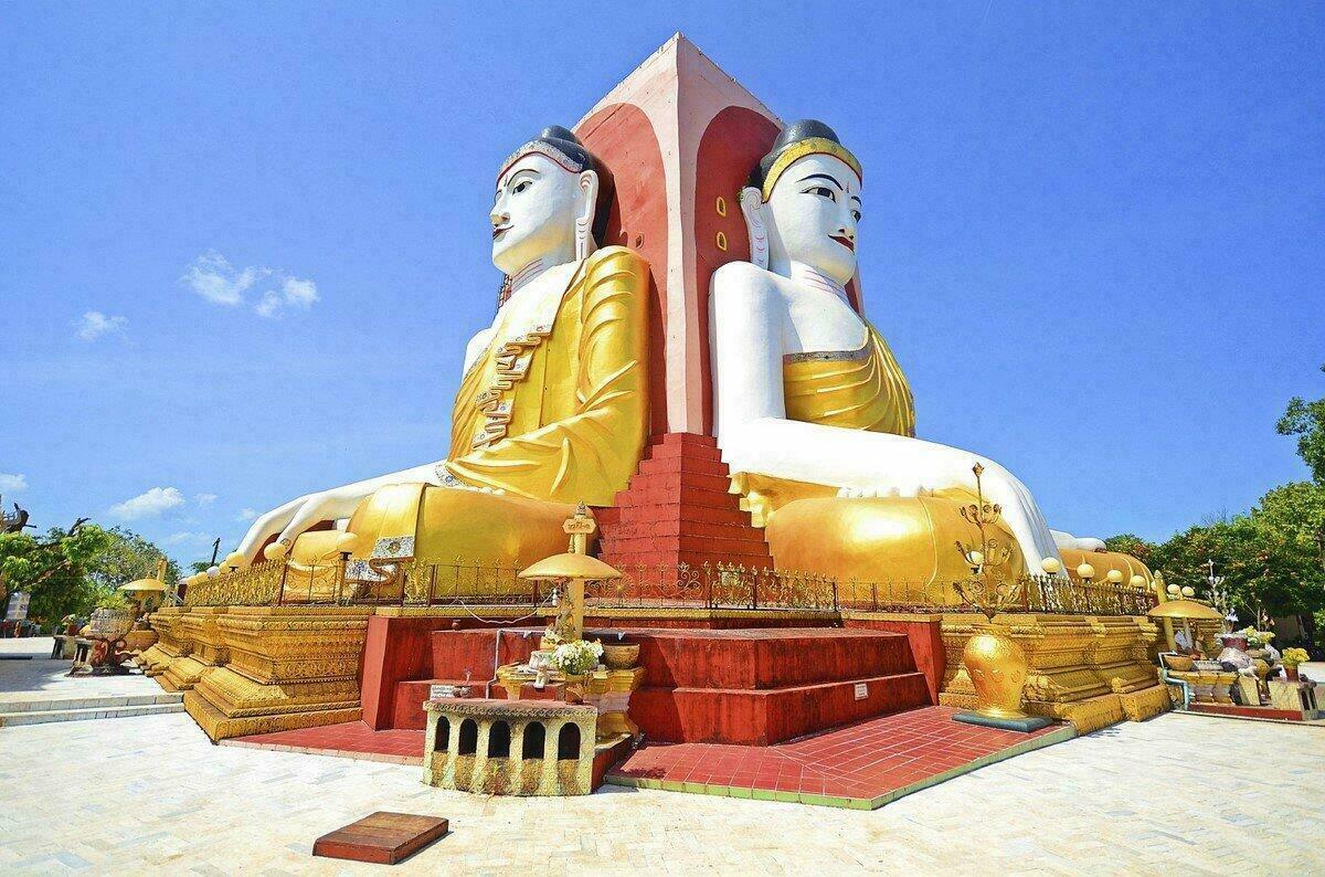Bouddhas de la pagode Kyaikpun