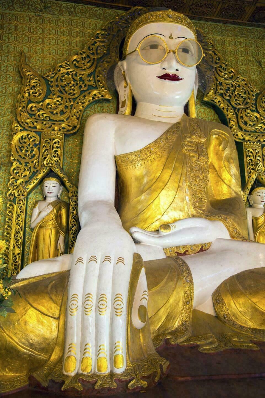 Bouddha à lunettes