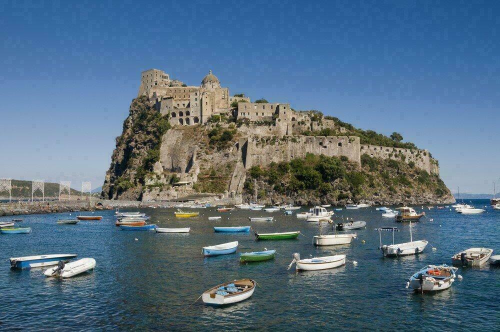 Castello Aragonese, Ischia Ponte