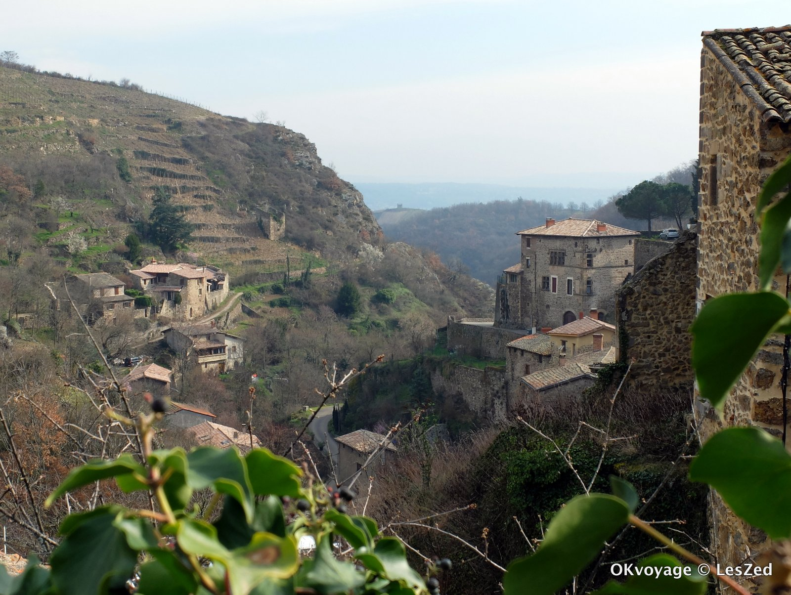 Village de Malleval dans le Pilat