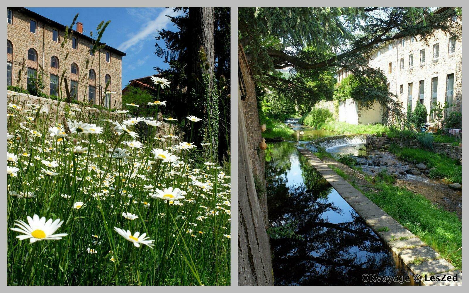 Le village de Saint-Julien-Molin-Molette dans le Pilat