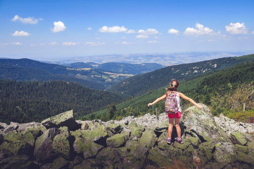 Randonnée des Crêts du Pilat Vue depuis le massif du Pilat