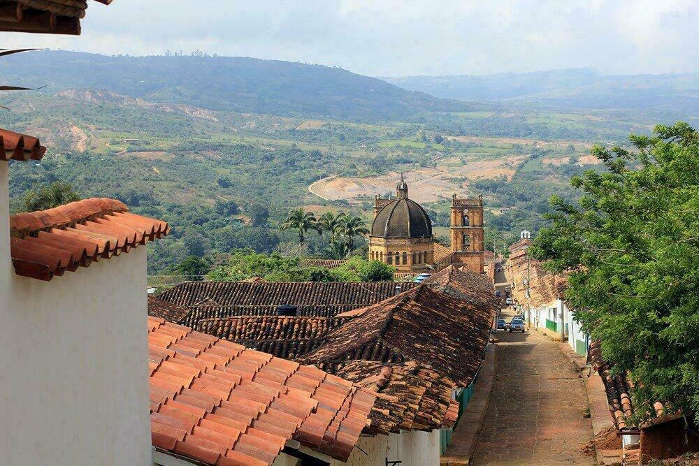 Barichara, en Colombie
