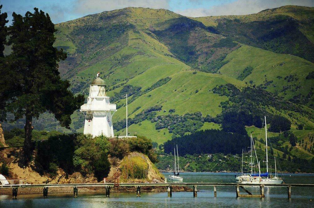 Port d'Akaroa, Nouvelle Zélande