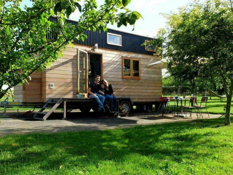 Un séjour en famille dans une Tiny House