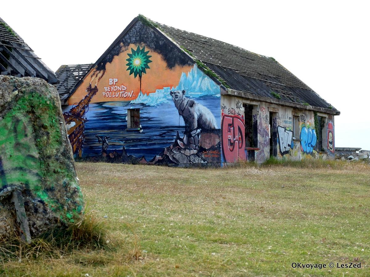 Village fantôme de Pirou / Manche - Normandie