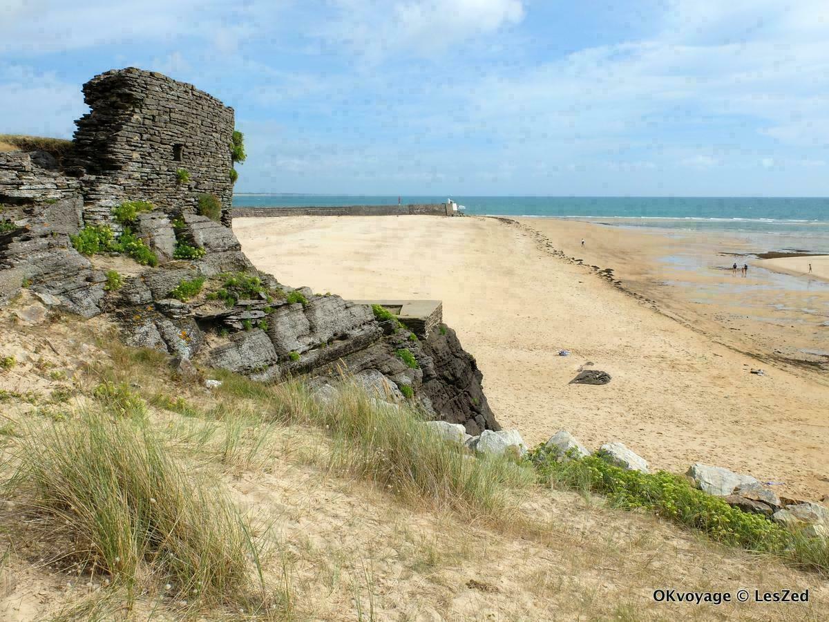 Plage de la Potinière / Barneville-Carteret / Manche - Normandie
