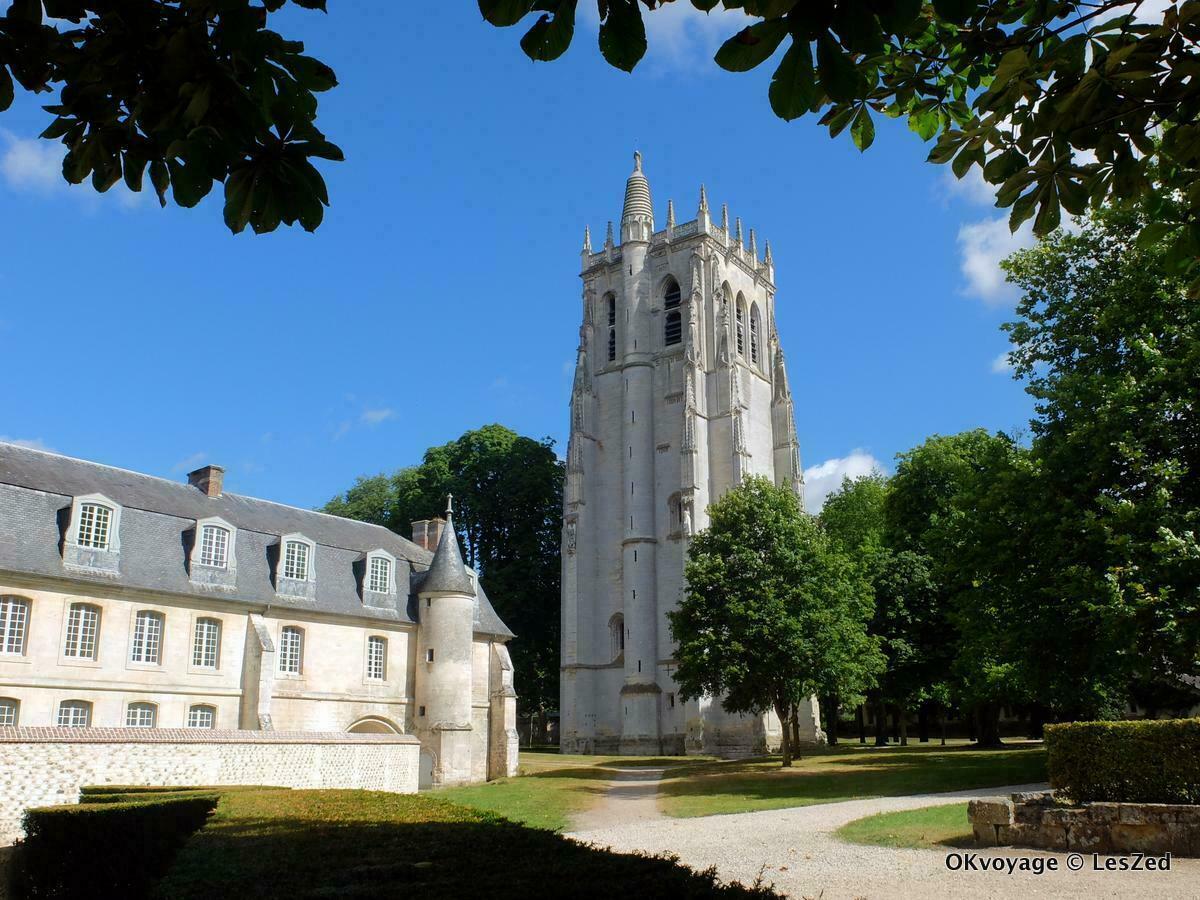 Abbaye du Bec-Hellouin / Eure - Normandie