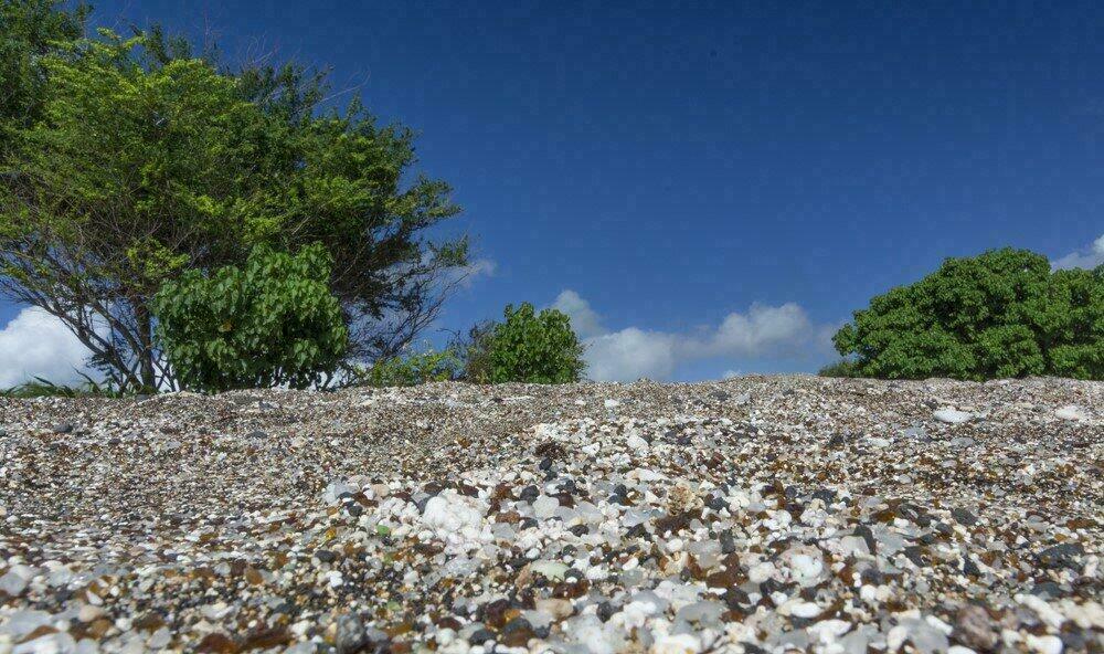 Plage de verre de Kauai
