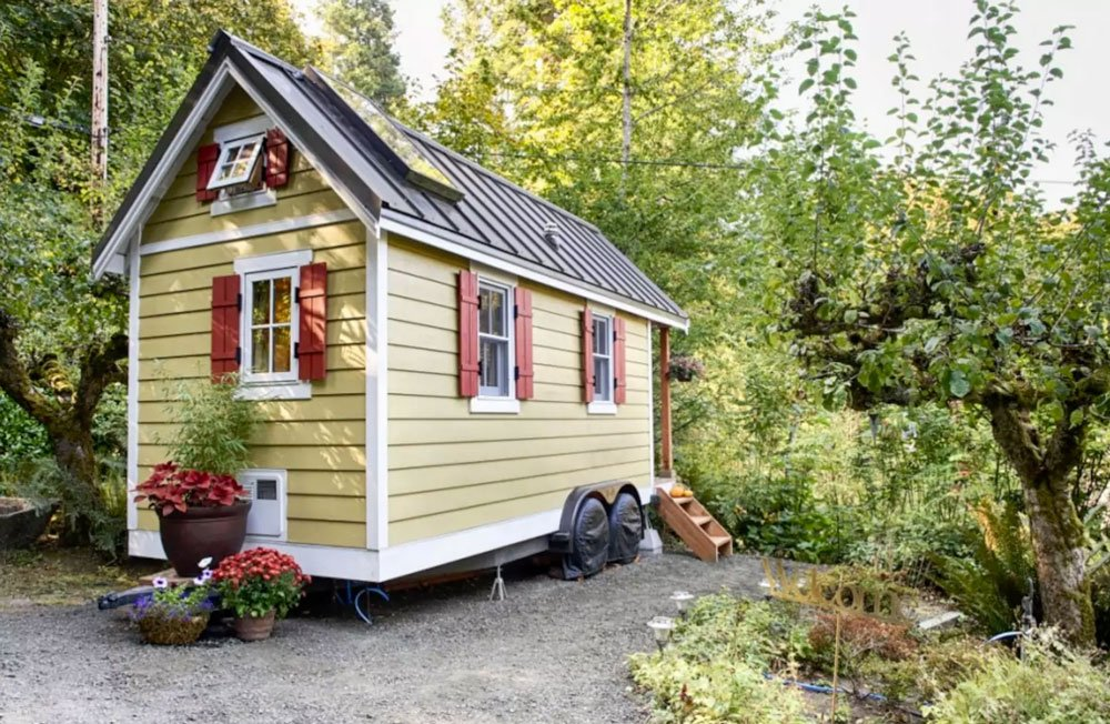 Tiny House à Olympia / Washington / Etats-Unis