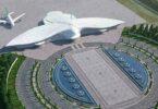 Aéroport d'Ashgabat au Turkménistan