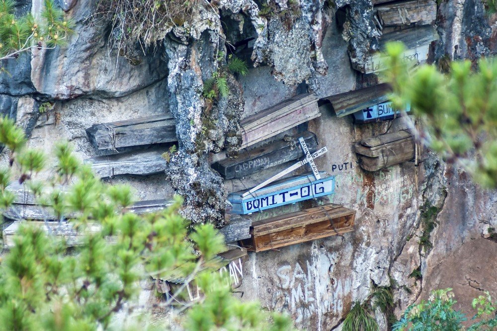 Cercueils suspendus de Sagada, Philippines