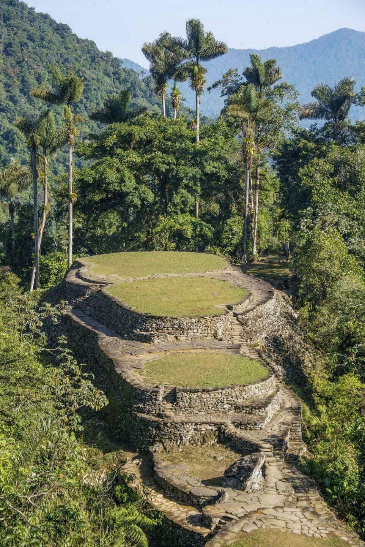 Cité perdue en Colombie