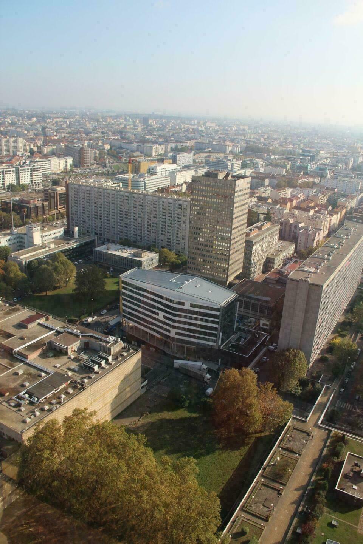 Vue sur le 3ème arrondissement de Lyon depuis le Radisson Blu Hotel